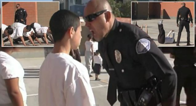 Ismael-Gonzalez-alex-nava-police-boot-camp-bullying-kids
