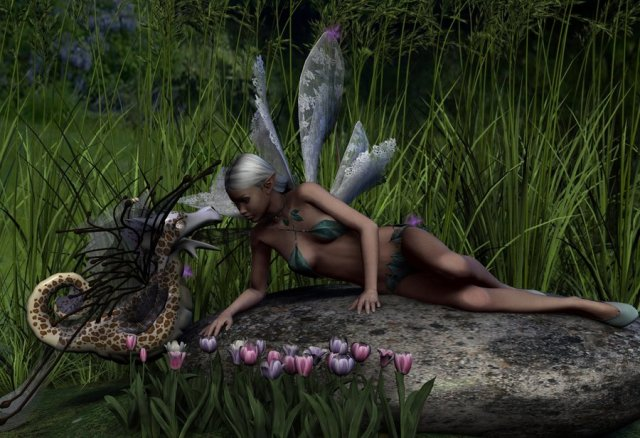 Of_fairies_and_fairy_dragons_by_Umrae_Thara