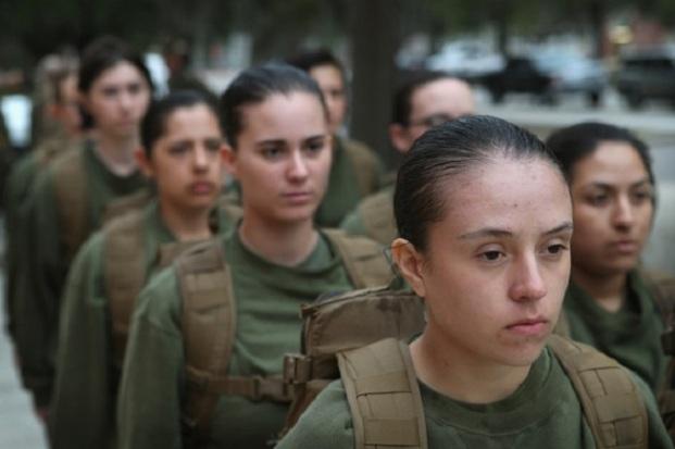 Women+Attend+Marine+Boot+Camp+Parris+Island+dOmFtAIvnqul